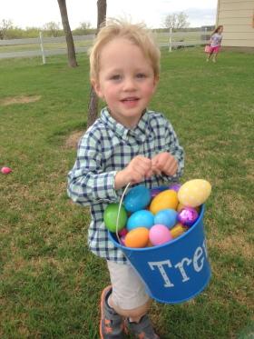 trevor egg hunting