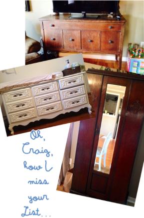furniture from craigslist