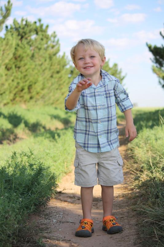 trevor, age 3