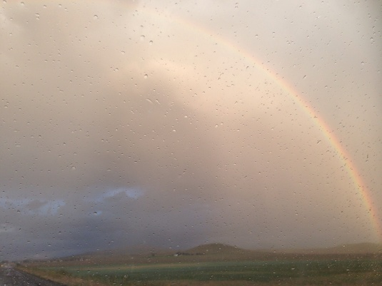 Rainbow in new mexico