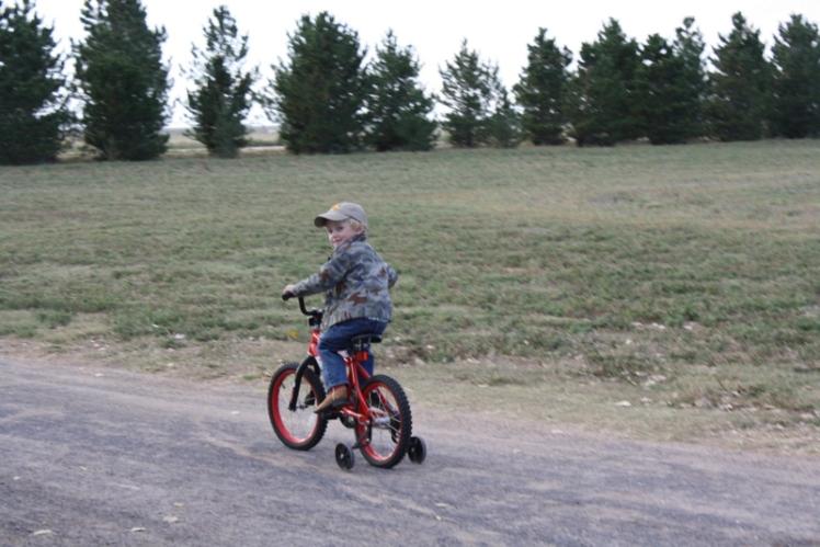 t riding bike