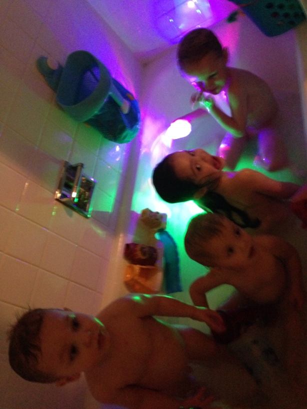 Party in the tub