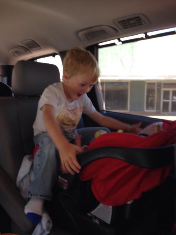 trevor car seat